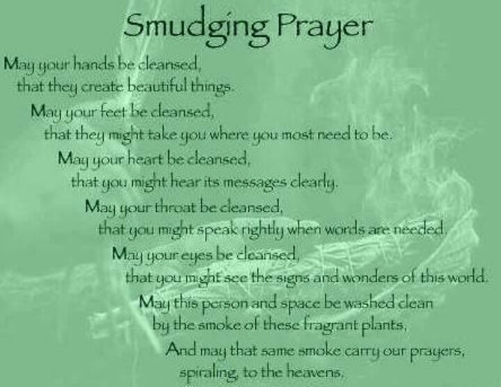 smudging-prayer - Kim Saeed: Narcissistic Abuse Recovery Program