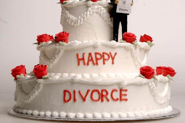 Glad to divorce a narcissist